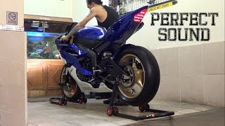 8. Yamaha R6 2012 Full Spec EXHAUST Akrapovic 99%(istimewa)