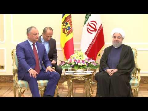 Președintele Moldovei și președintele Iranului au discutat despre colaborarea dintre cele două state