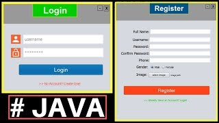 Video Java Project Tutorial - Make Login and Register Form Step by Step Using NetBeans And MySQL Database MP3, 3GP, MP4, WEBM, AVI, FLV Agustus 2019