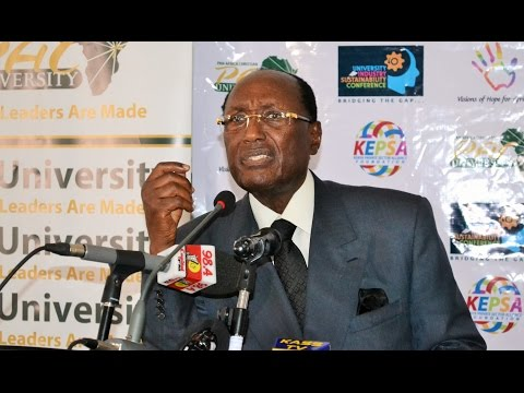 Churning half-baked, fake graduates is hurting the country, Kirubi says