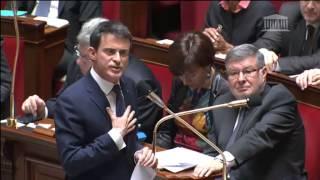 Video Echange Vif entre Christian Jacob et Manuel Valls sur la politique gouvernementale MP3, 3GP, MP4, WEBM, AVI, FLV Mei 2017