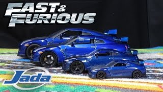 Nonton Fast & Furious 7 - Nissan GTR R35 - Jada Toys Scale Models Film Subtitle Indonesia Streaming Movie Download