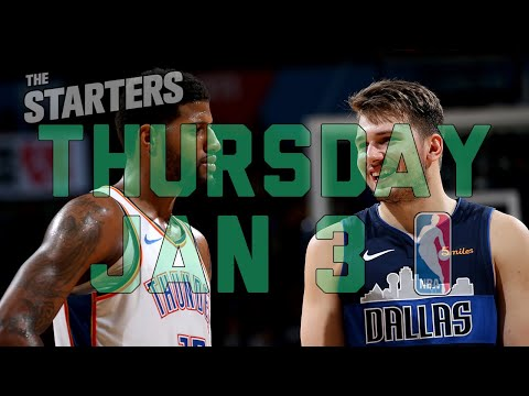 Video: NBA Daily Show: Jan. 3 - The Starters