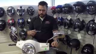 7. How to install a Scooter windshield