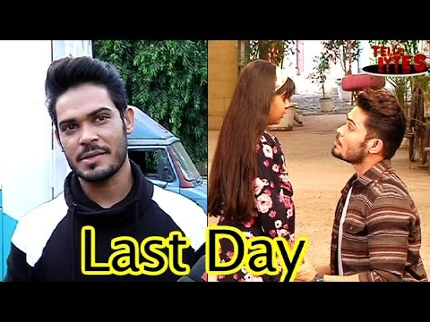 Kunwar Amar talks about his last day on the sets o