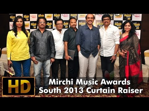Mirchi Music Awards South 2013 Curtain Raiser