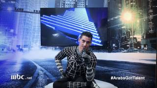 Arabs Got Talent - Karimbo - ردة فعله بعد أدائه النصف نهائيات