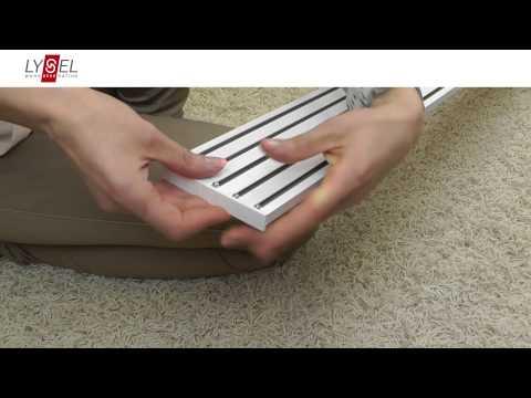 Lysel Schiebegardinen/Flächenvorhänge montieren