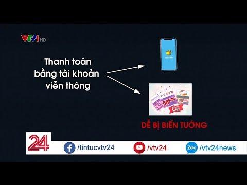 Thanh toán qua tài khoản viễn thông: lạ mà quen   VTV24 - Thời lượng: 2 phút, 2 giây.