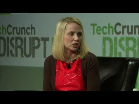 Marissa Mayer On People, Product, Traffic and Revenue | Disrupt SF 2013