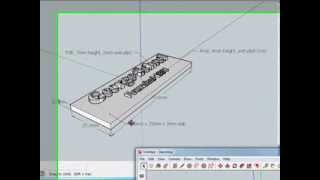 Video Adding Text (3D, 2D, and Labels) and Moving in SketchUp MP3, 3GP, MP4, WEBM, AVI, FLV Desember 2017