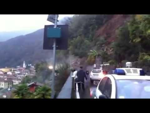Frana tra Cannero e Cannobio: Video di Oreste Garatti