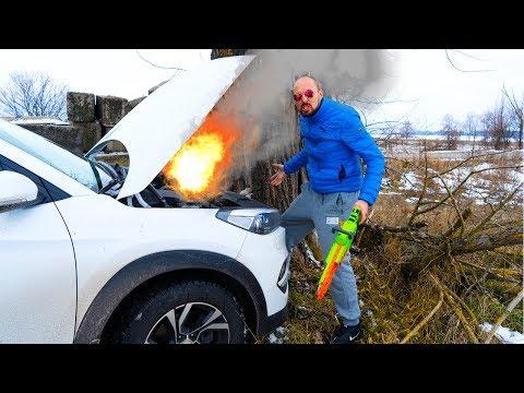 Разбили ЧУЖУЮ тачку !!! Smashed someone else's car !!!