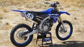 1. First Ride 2018 Yamaha YZ250F - Motocross Action Magazine