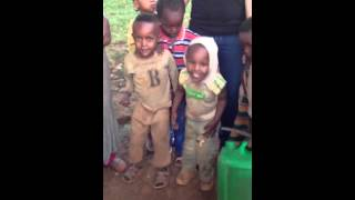 Ethiopian Kids Learning To Dance