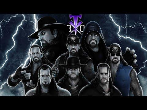 WWE Mayhem Top 10 Moves of The Phenom Undertaker / Celebrating 30 Years of The Legend /