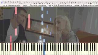 Драмы больше нет - Гагарина Полина (Ноты и Видеоурок для фортепиано) (piano cover)