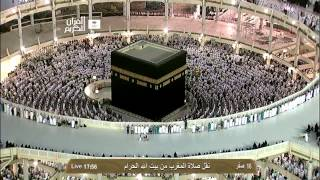 صلاة المغرب - الشيخ بندر بليلة - المسجد الحرام - الخميس 16 صفر 1435