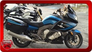 2. 2016 BMW K 1600 GT Sport Motorcycle Review