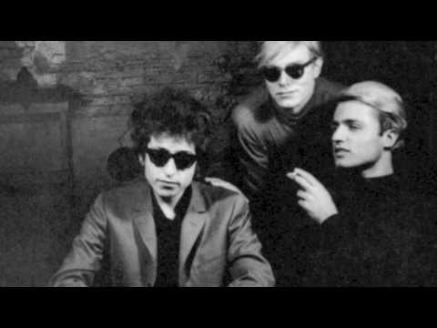 Andy Warhol's Screen Test of Bob Dylan (1965) NYC