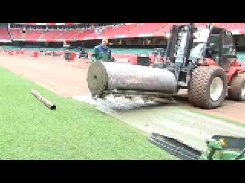 How to install roll turf?