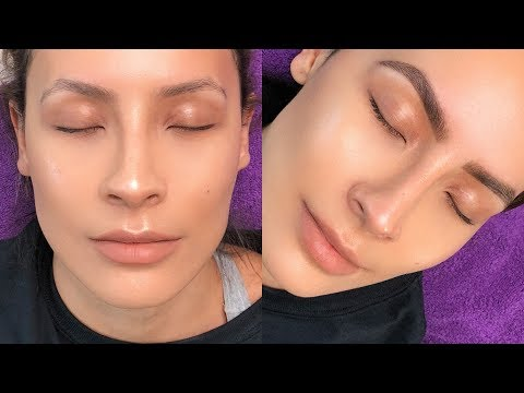 BROW TINTING: OMG THE RESULTS ARE INSANE | DESI PERKINS