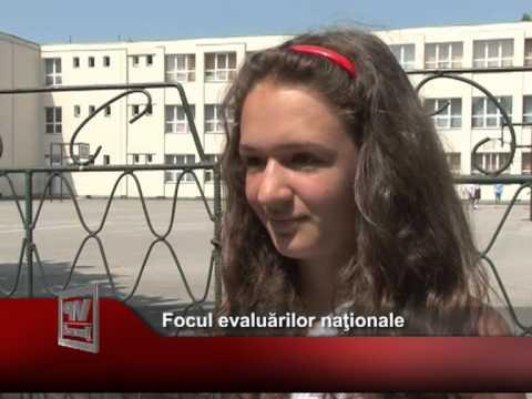 Focul evaluărilor naţionale