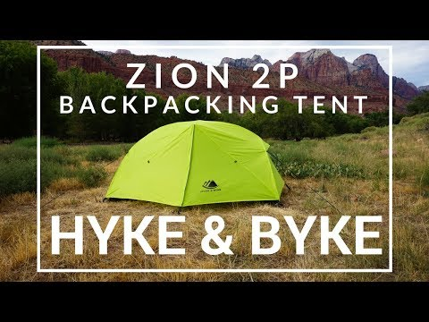 Hyke & Byke Zion 2P Backpacking Tent