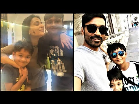 Aishwaryaa Dhanush New Year Celebration With Her sons !! |TamilCineChips