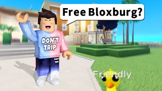 Roblox Bloxburg but it's Free