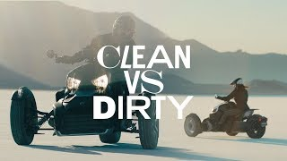 10. Can-Am Ryker // Clean vs. Dirty