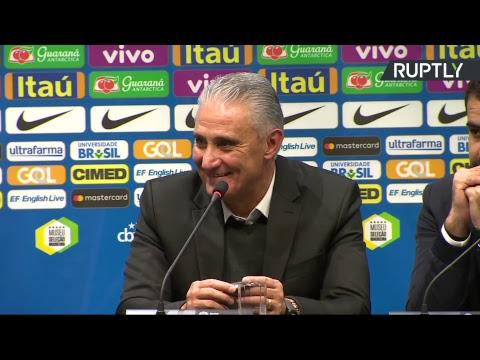 Пресс-конференция по итогам матча Россия — Бразилия