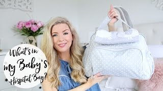 SERIOUS baby brain! I left in the intro to my previous video, so that's 2 intros I've messed up in a row now! Watch from 0:40 for the ACTUAL start to the video, and hopefully my brain will be working again soon!Thanks for watchingKate xWHAT'S IN MY HOSPITAL BAG: https://www.youtube.com/watch?v=oEEh7__8ByUMY HOSPITAL BAG VIDEO WITH ARCHIE: https://www.youtube.com/watch?v=EPQDRvoyWcwWHAT TO PACKBaby's bag6 vests6 sleepsuits12 nappiesNappy bagsFold up changing matCotton wool padsnewborn wipes2 hatsScratch mittsGrooming kitMuslins squaresSwaddle blanketPram blanketBibsCardiganCar seatCLICK TO SUBSCRIBE :) http://www.youtube.com/dollybowbowWHERE ELSE TO FIND ME!SNAPCHAT: kate.murnaneSHOP: http://www.dollybowbow.co.ukBLOG: http://www.dollybowbow.blogspot.co.ukTWITTER: http://www.twitter.com/dollybowbowINSTAGRAM: http://instagram.com/katebowbowFACEBOOK: http://www.facebook.com/dollybowbowRIK'S TWITTER: http://www.twitter.com/rikp89RIK'S INSTAGRAM: http://instagram.com/rikp89