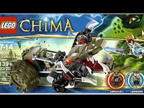 Video New product video released on YouTube for the Chima Crawley Claw Ripper 70001