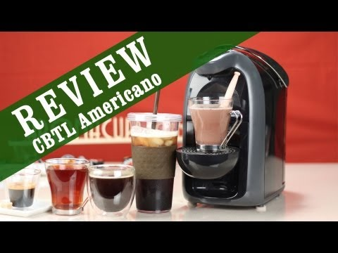 CBTL Americano Espresso and Coffee Maker Review