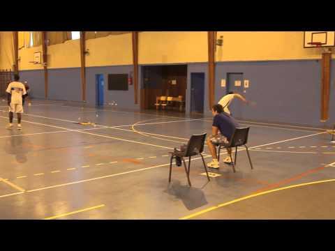 Speed badminton - Adult christmas tournament 2013 Montgeron-Vigneux