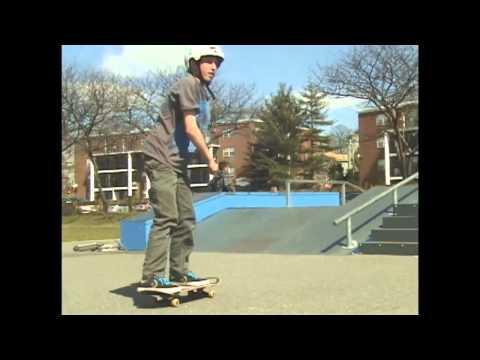 Zach Rourke at Winthrop skatepark