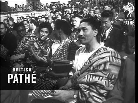 The Tashkent Conference (1958)
