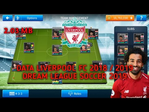 Download Dream League Soccer 2019|Mod Liverpool FC|Kits 18/19|Hack Unlimited Coins