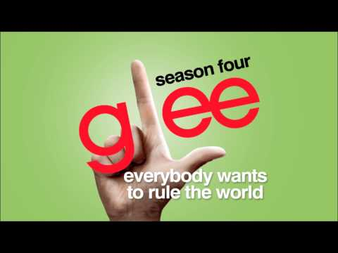 Tekst piosenki Glee Cast - Everybody Wants to Rule the World po polsku