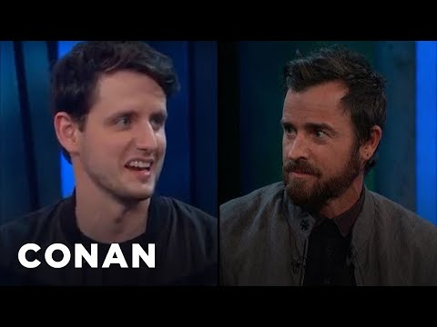 Justin Theroux & Zach Woods Had Never Heard Of LEGO Ninjago  - CONAN on TBS