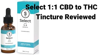 Select Oil: 1:1 CBD: THC Tincture Tested and Reviewed by  Weeats Reviews