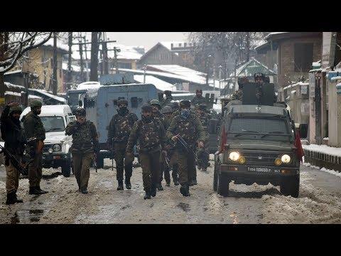 Mujaheddin attack Srinagar  CRPF  CAMP