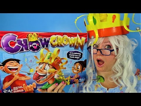 Chow Crown Game Funny Challenge Granny McDonald Snacks Hidden Heart
