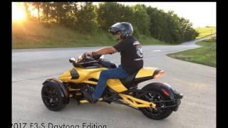 2. 2017 Can-Am Spyder F3-S Daytona 500 | Luxury Inspired Bike All New