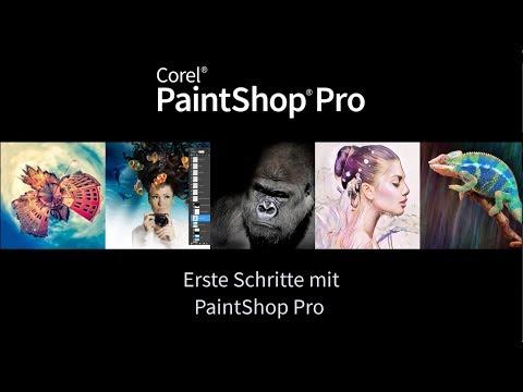 Erste Schritte mit PaintShop Pro