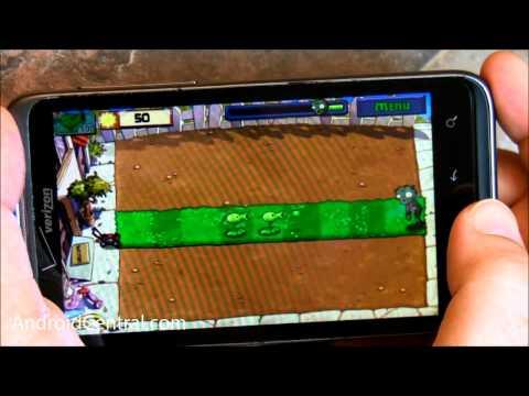 Скриншоты игры Plants vs Zombie android