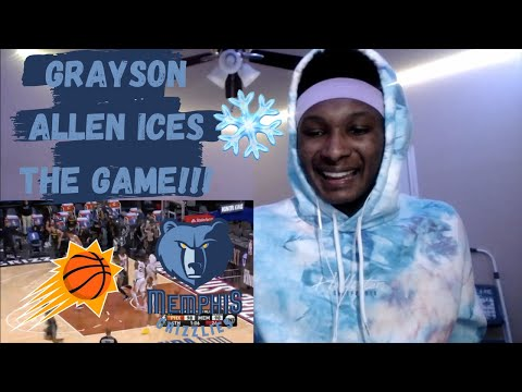 Phoenix Suns vs Memphis Grizzlies Highlights Reaction!!! Grizzlies Clutch Up Late In The 4th!!!