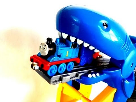 Thomas and Friends' Thomas Tank Engine Shark Exhibit  Aquarium Adventure Take and Play Set