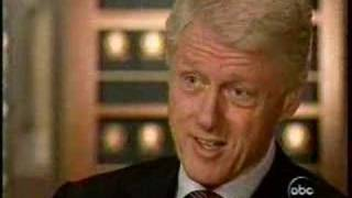 President Clinton to Peter Jennings